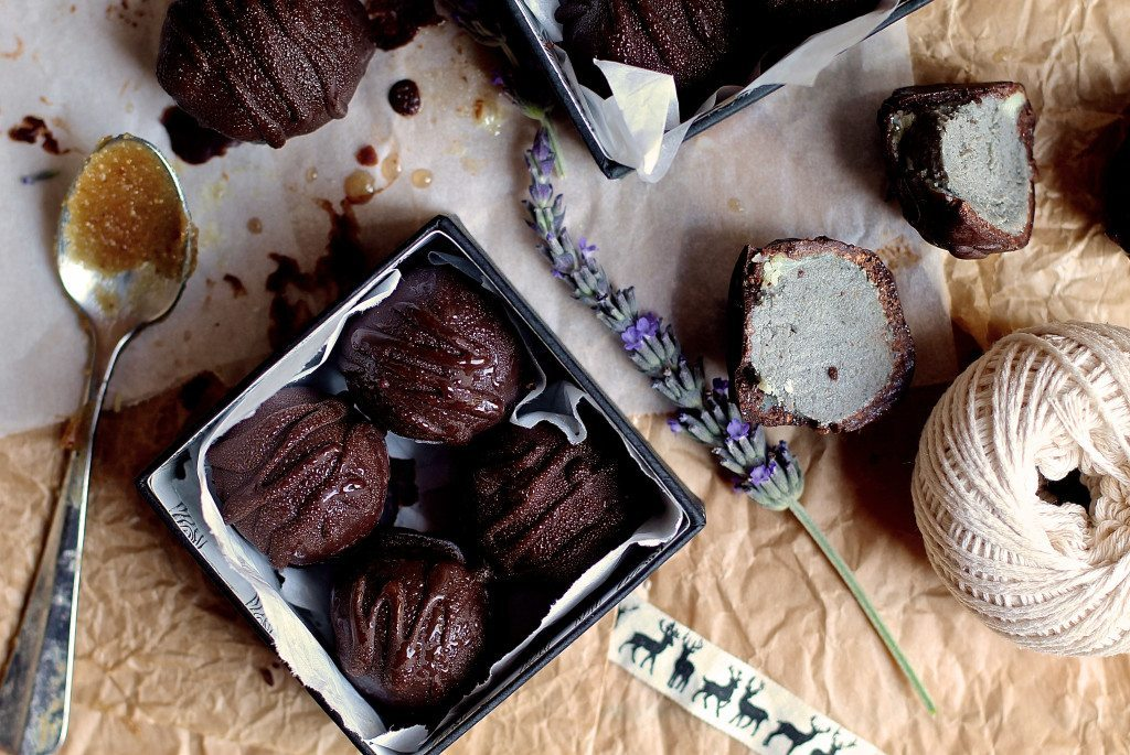 Three Silver Spoons - Lavender, Acai and Vanilla Bliss Truffles2b