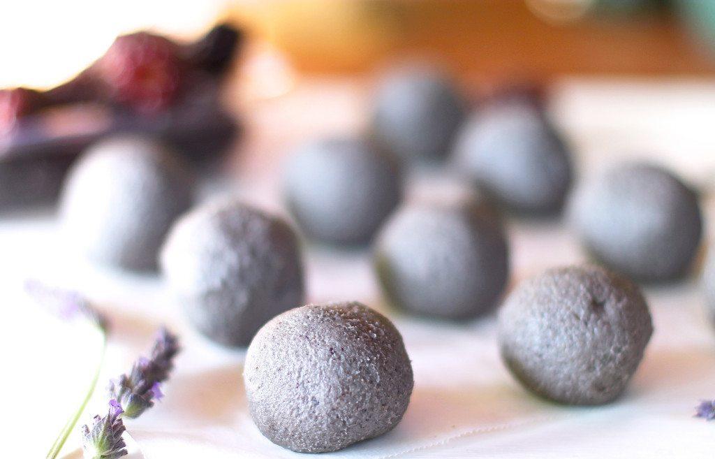 Three Silver Spoons - Lavender, Acai and Vanilla Bliss Truffles