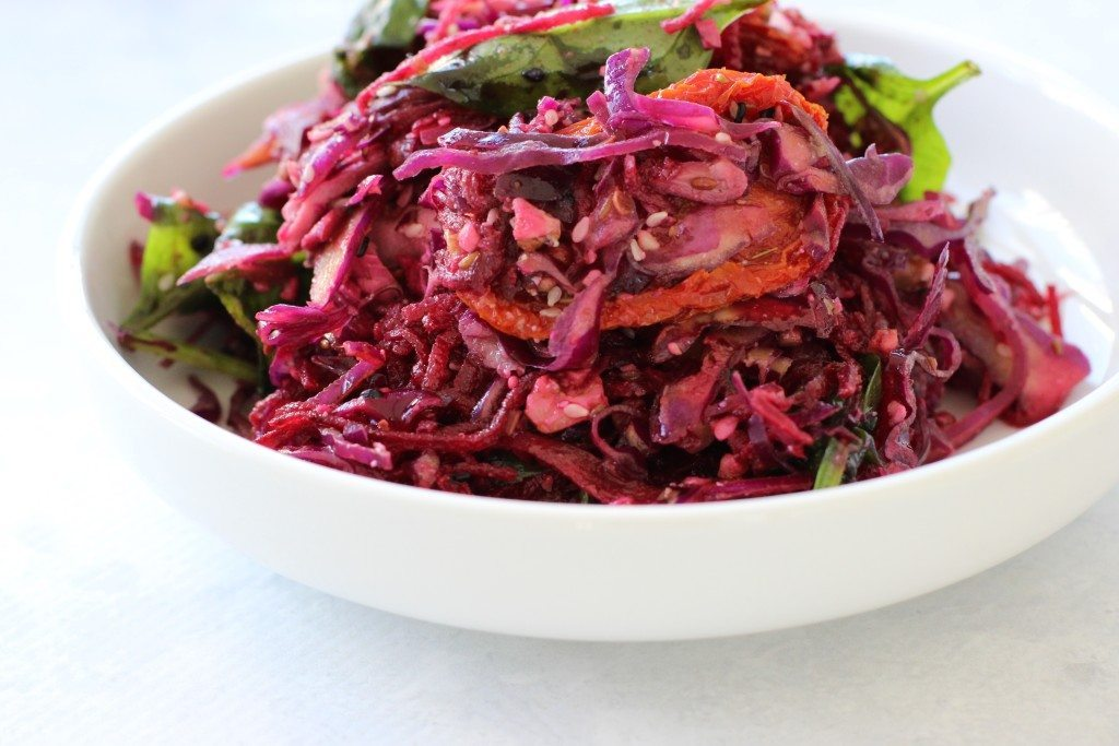 Dazzling Winter Slaw - Three Silver Spoons