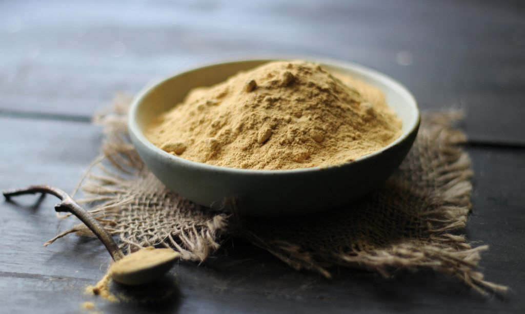 Mesquite Buckwheat Porridge and Carob Smoothie Parfait by Heather Sanderson - Three Silver Spoons