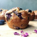 Vegan Blueberry and Banana Muffins