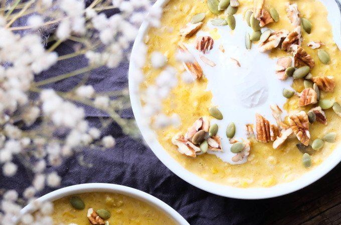 Pumpkin Porridge - Three Silver Spoons