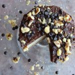 Raw Vegan Peanut Butter and Mocha Cheesecake - Three Silver Spoons