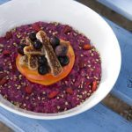 Warming Pitaya and Goji Oatmeal