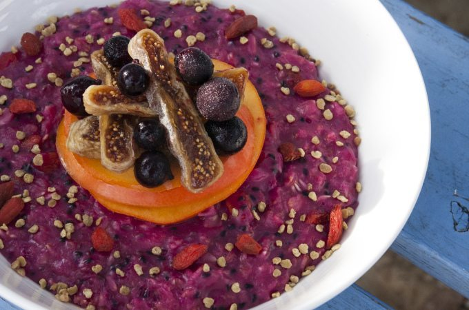 Three Silver Spoons - Lilly Shor - Pitaya and Goji Oatmeal