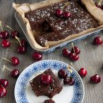 Vegan & Gluten-Free Chocolate Cherry Cake