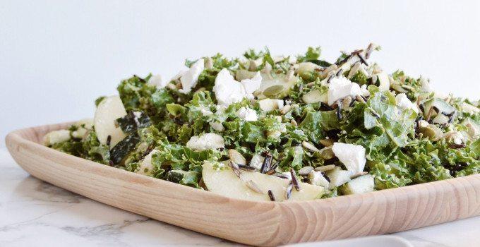 Virtuous Kale Salad